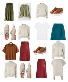"""Untitled #287"" by irinabukhinnyk on Polyvore featuring Carven, Vanessa Bruno, Splendid, Gap and Frame"