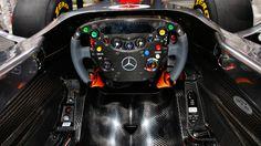 mercedes cockpit #f1