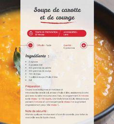 Soupe de carotte et de courge