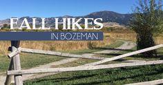 Fall hiking in Bozeman, Montana #hiking #montana