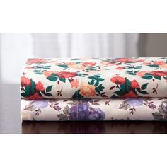 Shop for Rose Garden Cotton 350TC Cotton Rich Print Sheet Set. Free Shipping on orders over $45 at Overstock.com - Your Online Sheets