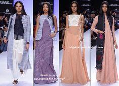 LFW Summer 2014- Vaishali S -3: khadi, flowing fabrics elegant restraint - I die!!!