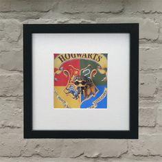 Marvel Comics Inspired Hulk Effect Framed Wall Art Hogwarts Crest, Harry Potter Hogwarts, Box Frames, Framed Wall Art, Marvel Comics, Hulk 3, 3 D, Inspired, Fun Stuff