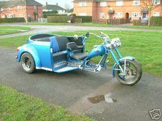 vw custom trikes | VW Trikes