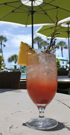 What's your go to poolside cocktail while on vacation?