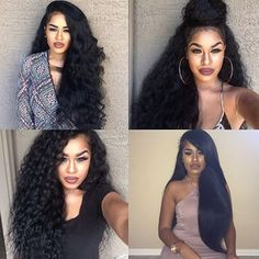 HAIRSPIRATION| Long hair don't care on @classy_ways❤️ spotted by #VOHAmbassador @masalaciaga Which style is your fav? #VoiceOfHair