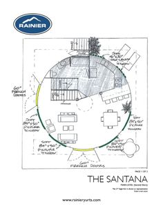 Yurt Floor Plans Rainier Yurts Yurts Pinterest Yurts