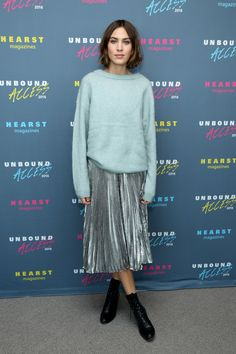 Happy Birthday, Alexa Chung  - HarpersBAZAAR.com