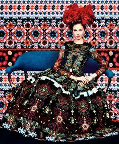 Elisabeth Erm por Erik Madigan Heck para Harper's Bazaar US Março 2014