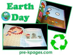 Earth day ideas for preschool and kindergarten via www.pre-kpages.com