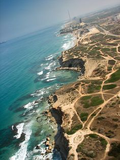 Coast of Tel Aviv | Isreal - Also one of the world's largest diamond miners, cutters and exporters