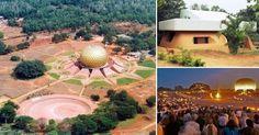 Auroville, India: una ciudad sin dinero ni política ni religión que parece de otro mundo