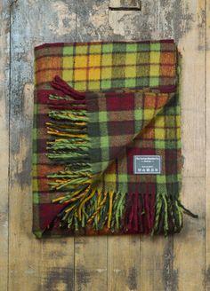Classic Wool Blanket In Autumn Buchanan Tartan Tartan f5db345f3