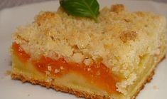 Rychlý koláč s meruňkami Dessert Recipes, Desserts, Sweet Recipes, Smoothie, Cheesecake, Pudding, Treats, Baking, Ethnic Recipes
