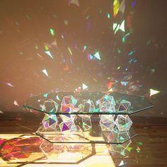 Le palace du rayon laser tincelant