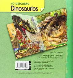Dinosaurios. Yo Descubro: Amazon.es: Equipo Susaeta, Francisca Valiente: Libros