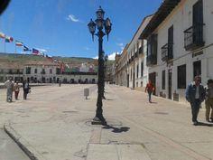 Esquina Plaza de Bolívar Tunja, Boyacá