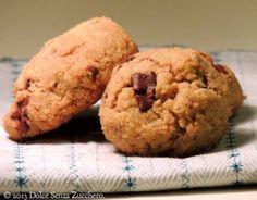 Senza zucchero e senza farina... i biscotti sono buoni anche così!