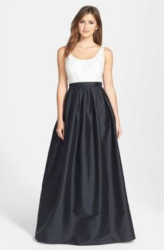 Aidan Mattox Embellished Bodice Taffeta Ballgown | Nordstrom, How would you accessorize this? http://keep.com/aidan-mattox-embellished-bodice-taffeta-ballgown-no-by-corri-mcfadden/k/0YA8LtABIx/