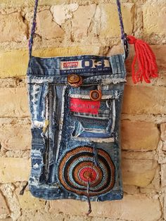 Upcycling Jeansbag nr. 12
