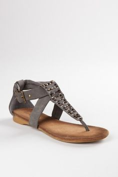 ANNA Bonnie Beaded Thong Sandal by Mad About Shoes on @HauteLook