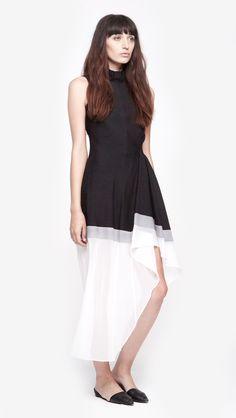 Dexas Runway Dress by Theory