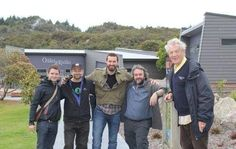 """A day out with the """"guys"""" in a New Zealand """"hot spot"""". (volcanic area)"""