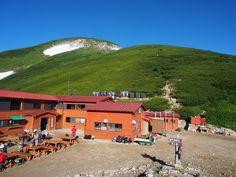双六小屋から双六岳・三俣蓮華岳から黒部五郎岳|北アルプス登山ルートガイド。Japan Alps mountain climbing route guide