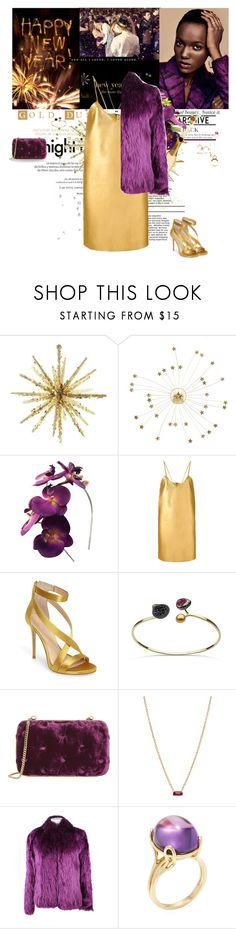"""""""Kiss me in the midnight"""" by karliuxxx ❤ liked on Polyvore featuring Louis Vuitton, Gucci, Manokhi, Imagine by Vince Camuto, Benedetta Bruzziches, ZoÃ« Chicco, Waterford, Balenciaga, Goshwara and dress"""