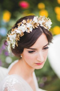 Floral Crown by Miss Pickering, lovely Charlotte.