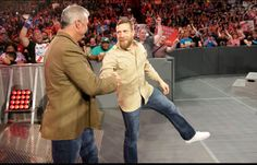 Daniel Bryan und Shane McMahon enthüllen die SmackDown Tag Team und Women's… Daniel Bryan, Wwe Draft, Shane Mcmahon, Wwe News, Wwe Superstars, Live, Blessing, Women, Woman