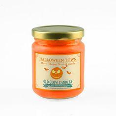 Halloween Town soja parfumée - cauchemar avant Noël bougie d