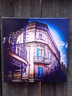 NOLA Colors Large Canvas, Balcony