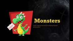 This is cute Monsters PowerPoint Template, which consists of several lovely creatures and monsters. Powerpoint Themes, Powerpoint Template Free, Creative Powerpoint Templates, Themes Free, Lovely Creatures, Cute Monsters