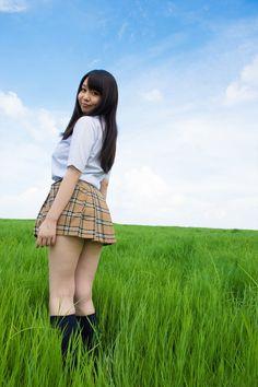 美少女AV女優 夢乃あいかちゃんの制服姿が可愛くて似合いまくりな女子校生コスプレ画像の記事画像5