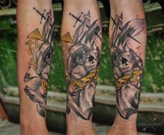 Lukas Zglenicki- Cykada Sopot #tattoo #aliceinwonderland #rabittattoo