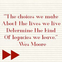Leave a great legacy. Citizenship, No Response, Life