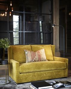 Hafjell • Slettvoll Love Seat, Cabin, Couch, Mountain, Design Ideas, Interiors, Furniture, Home Decor, Chalets