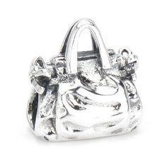 Moress My Favorite Handbag Purse Solid 925 Sterling Silver European Charm Bead - Compatible Brand Bracelets : Authentic Pandora, Chamilia, Moress, Troll, Ohm, Zable, Biagi, Kay's Charmed Memories, Kohl's, Persona & more! Moress Bead Charms,http://www.amazon.com/dp/B005RH1AOG/ref=cm_sw_r_pi_dp_aWDGsb0AFVTGFRMK