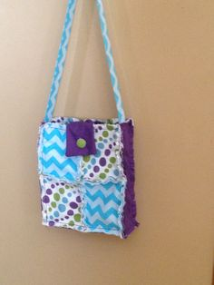 Rag Quilted Bag:)