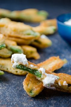 Fried green beans are the healthy alternative to regular french fries. These are so good that even the veggie haters will love them!