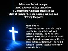 Mark 1:32-34