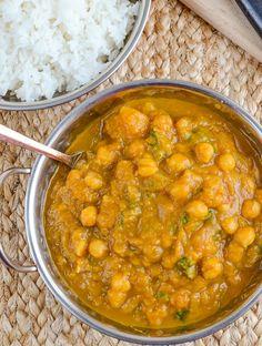 Butternut Squash Chickpea Curry (Vegan)
