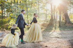 Long Maxi Custom Handmade Custom Wedding by SweetPeaAndButtercup Tutu En Tulle, Little Girl Skirts, Anniversary Pictures, Satin, Family Photos, Etsy, Buttercup, Wedding, Color