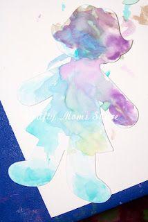 Watercolor Paper Dolls