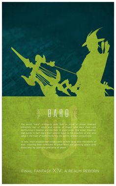 Bard [Final Fantasy XIV] by fredjully
