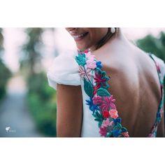 Impresionante nuestra novia del sábado @alejandra_gras con vestido de @nnavascues #noviasconestilo #bodasbonitas #fotografiadeboda
