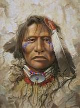 Native american art from Mark Rohrig and Kirby Sattler on . Native American Face Paint, Native American Paintings, Native American Pictures, Native American Wisdom, Native American Artists, Native American Tribes, American Indian Art, Native American History, American Indians