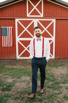 Happy of July! We're celebrating American Independence Day with this cool Americana wedding inspiration shoot by Gina Paulson Photography. July 4th Wedding, Red Wedding, Summer Wedding, Wedding Blog, Wedding Veils, Boho Wedding, Wedding Hair, Bridal Hair, Wedding Stuff