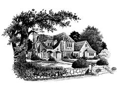 my favorite house plan in the whole world!  chickering country house by stephen fuller